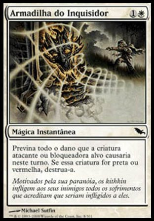 Armadilha do Inquisidor / Inquisitor's Snare-Magic: The Gathering-MoxLand