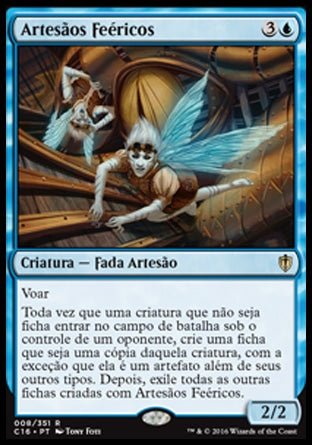 Artesãos Feéricos / Faerie Artisans-Magic: The Gathering-MoxLand