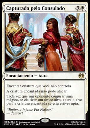 Capturada pelo Consulado / Captured by the Consulate-Magic: The Gathering-MoxLand