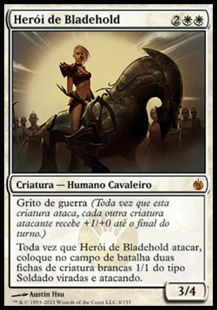 Herói de Bladehold / Hero of Bladehold-Magic: The Gathering-MoxLand