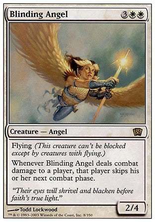 Anjo Ofuscante / Blinding Angel-Magic: The Gathering-MoxLand