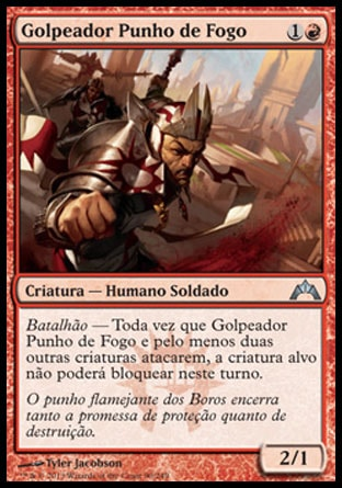 Golpeador Punho de Fogo / Firefist Striker-Magic: The Gathering-MoxLand