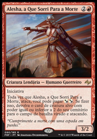 Alesha, a Que Sorri Para a Morte / Alesha, Who Smiles at Death-Magic: The Gathering-MoxLand
