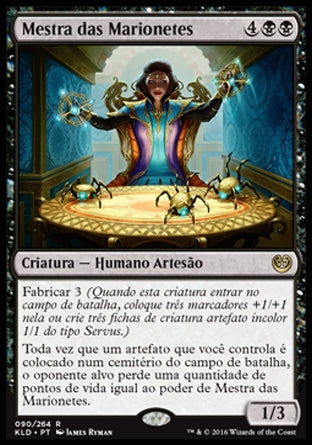 Mestra das Marionetes / Marionette Master-Magic: The Gathering-MoxLand