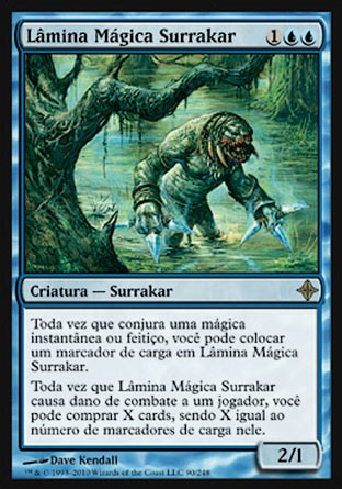 Lâmina Mágica Surrakar / Surrakar Spellblade-Magic: The Gathering-MoxLand