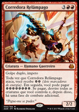 Corredora Relâmpago / Lightning Runner-Magic: The Gathering-MoxLand