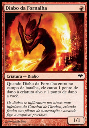 Diabo da Fornalha / Forge Devil-Magic: The Gathering-MoxLand