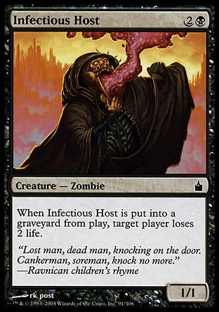 Anfitrião Infeccioso / Infectious Host-Magic: The Gathering-MoxLand