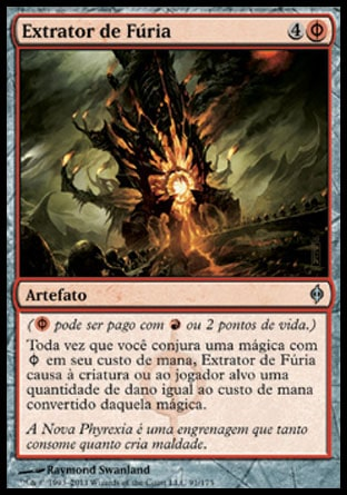 Extrator de Fúria / Rage Extractor-Magic: The Gathering-MoxLand