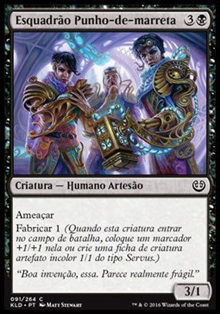 Esquadrão Punho-de-marreta / Maulfist Squad-Magic: The Gathering-MoxLand