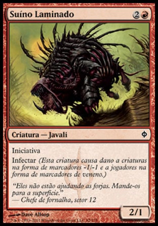 Suíno Laminado / Razor Swine-Magic: The Gathering-MoxLand
