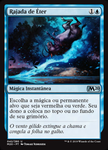 Rajada de Éter / Aether Gust-Magic: The Gathering-MoxLand
