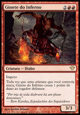 Ginete do Inferno / Hellrider-Magic: The Gathering-MoxLand