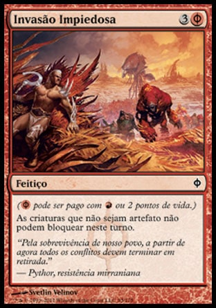 Invasão Impiedosa / Ruthless Invasion-Magic: The Gathering-MoxLand