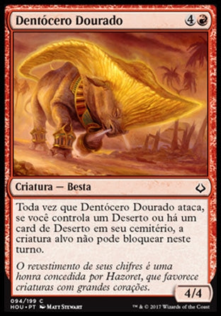 Dentócero Dourado / Gilded Cerodon-Magic: The Gathering-MoxLand