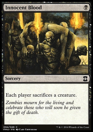 Sangue dos Inocentes / Innocent Blood-Magic: The Gathering-MoxLand