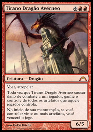 Tirano Dragão Avérneo / Hellkite Tyrant-Magic: The Gathering-MoxLand