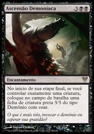 Ascensão Demoníaca / Demonic Rising-Magic: The Gathering-MoxLand