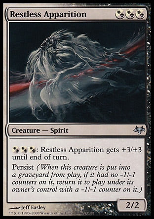 Aparição Inquieta / Restless Apparition-Magic: The Gathering-MoxLand