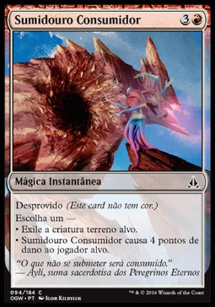 Sumidouro Consumidor / Consuming Sinkhole-Magic: The Gathering-MoxLand