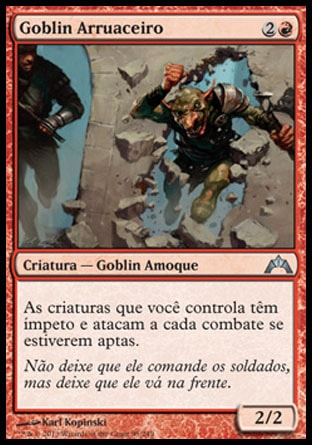 Goblin Arruaceiro / Hellraiser Goblin-Magic: The Gathering-MoxLand