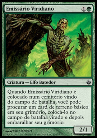 Emissário Viridiano / Viridian Emissary-Magic: The Gathering-MoxLand