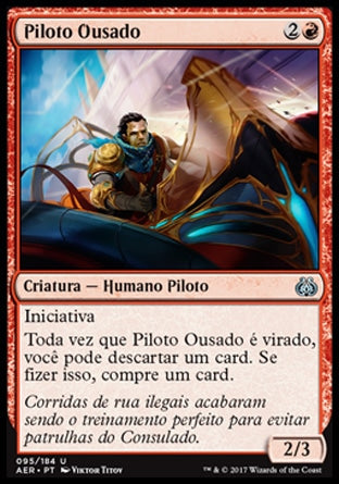 Piloto Ousado / Reckless Racer-Magic: The Gathering-MoxLand