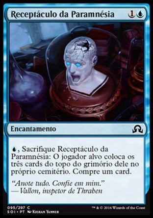 Receptáculo da Paramnésia / Vessel of Paramnesia-Magic: The Gathering-MoxLand