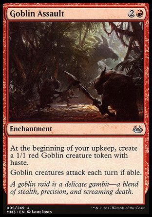 Assalto Goblin / Goblin Assault-Magic: The Gathering-MoxLand