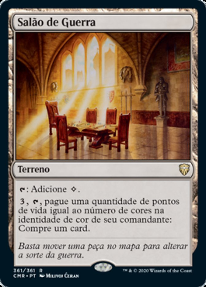 Salão de Guerra / War Room-Magic: The Gathering-MoxLand