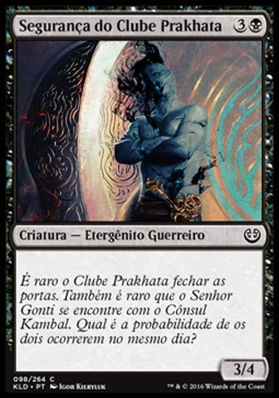 Segurança do Clube Prakhata / Prakhata Club Security-Magic: The Gathering-MoxLand