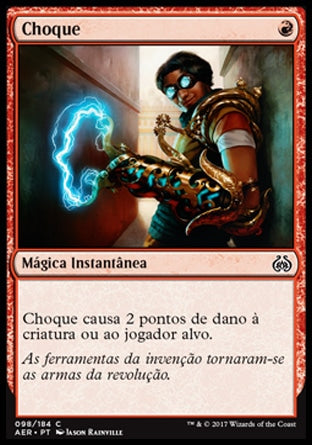 Choque / Shock-Magic: The Gathering-MoxLand