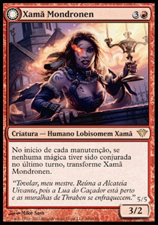 Xamã Mondronen / Mondronen Shaman-Magic: The Gathering-MoxLand