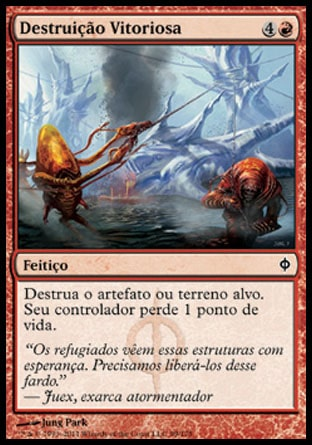 Destruição Vitoriosa / Victorious Destruction-Magic: The Gathering-MoxLand