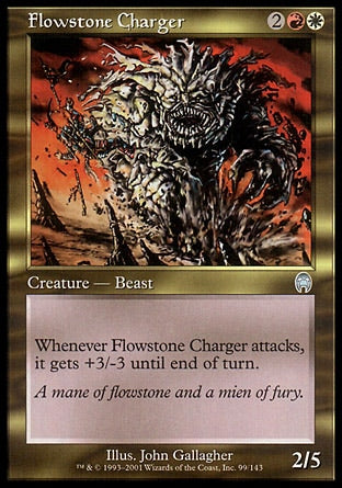 Atacante de Rochafluente / Flowstone Charger-Magic: The Gathering-MoxLand