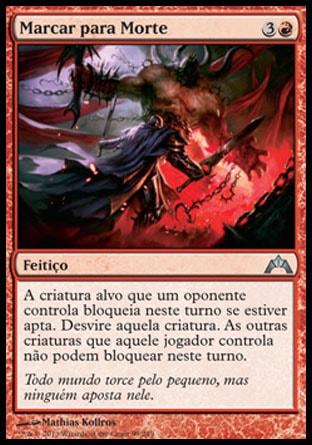 Marcar para Morte / Mark for Death-Magic: The Gathering-MoxLand