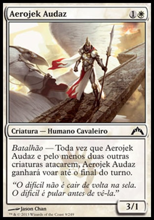 Aerojek Audaz / Daring Skyjek-Magic: The Gathering-MoxLand
