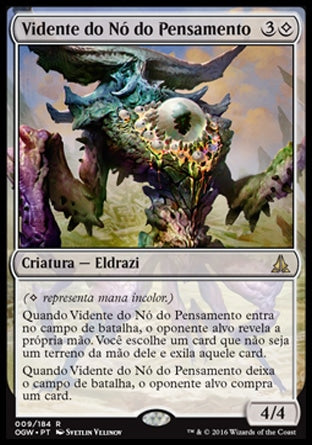 Vidente do Nó do Pensamento / Thought-Knot Seer-Magic: The Gathering-MoxLand