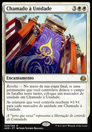Chamado à Unidade / Call for Unity-Magic: The Gathering-MoxLand