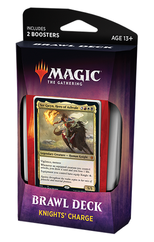 Brawl Deck - Trono de Eldraine Knight's Charge-Magic: The Gathering-MoxLand