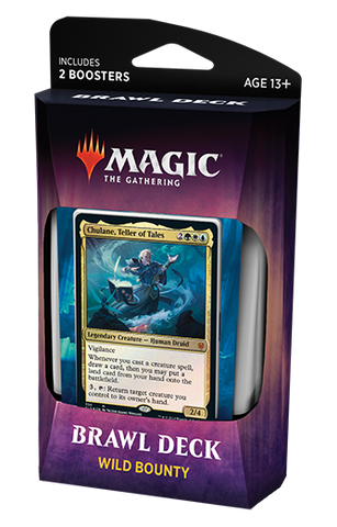 Brawl Deck - Trono de Eldraine Wild Bounty-Magic: The Gathering-MoxLand