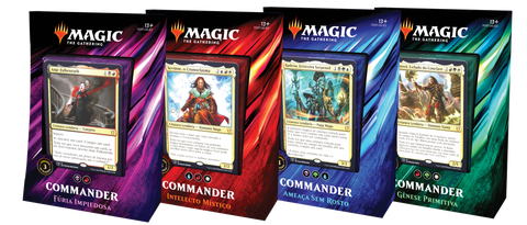 Commander 2019 - 1 Deck de cada-Magic: The Gathering-MoxLand