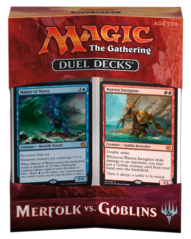 Duel Deck - Merfolk vs. Goblins-Magic: The Gathering-MoxLand