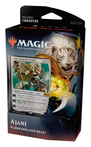Planeswalker Deck - Magic 2020 Ajani-Magic: The Gathering-MoxLand