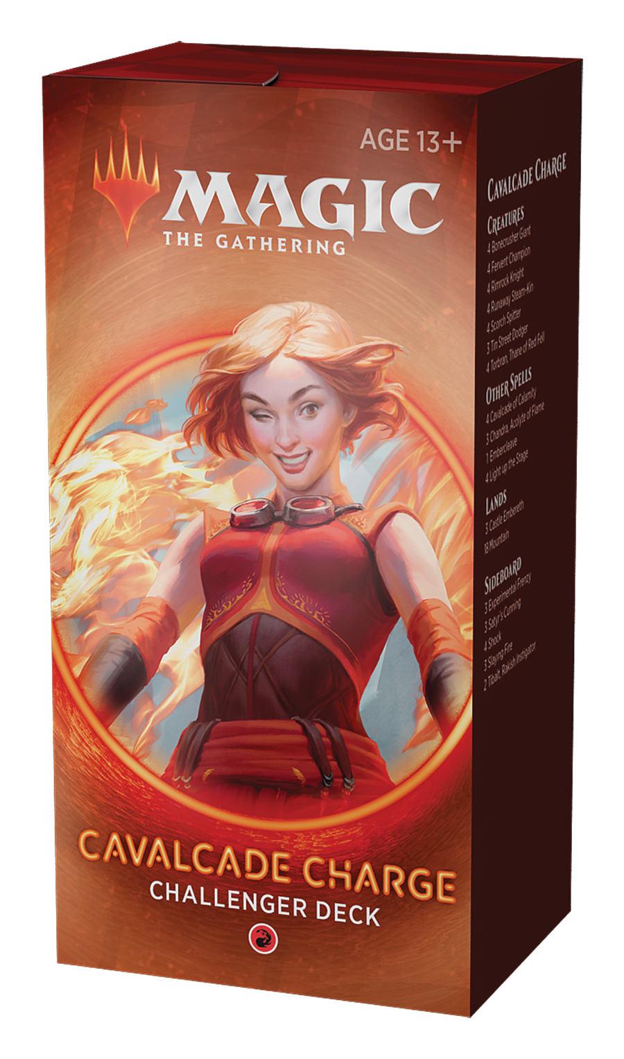 Challenger Deck - Cavalcade Charge-Magic: The Gathering-MoxLand