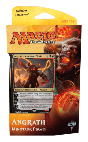 Planeswalker Deck - Rivais de Ixalan Angrath-Magic: The Gathering-MoxLand