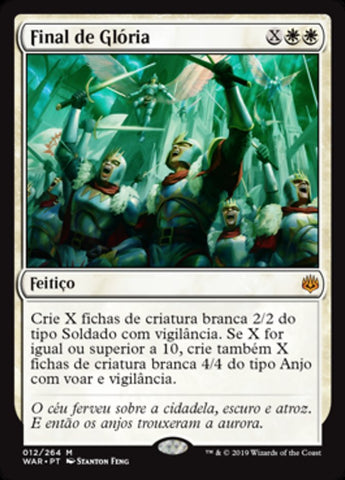 Final de Glória / Finale of Glory-Magic: The Gathering-MoxLand