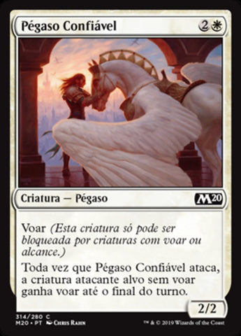Pégaso Confiável / Trusted Pegasus-Magic: The Gathering-MoxLand
