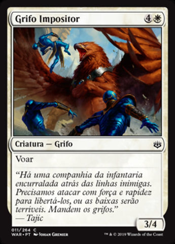 Grifo Impositor / Enforcer Griffin-Magic: The Gathering-MoxLand