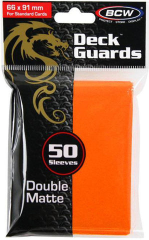 BCW - Gaming Deck Guard Matte Orange-BCW-MoxLand